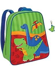 Stephen Joseph Dinosaur Backpack with Dinosaur Zipper Pull - Boys Backpacks