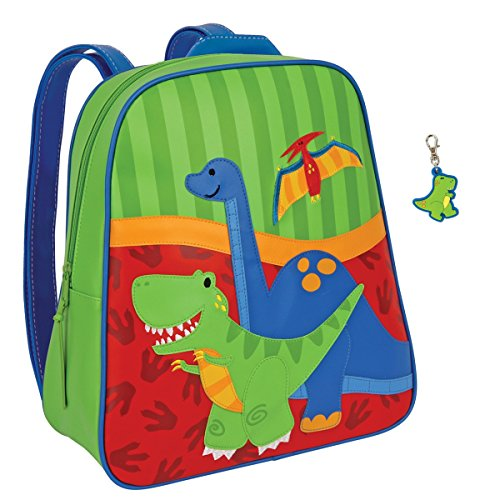 Stephen Joseph Dinosaur Backpack with Dinosaur Zipper Pull - Boys Backpacks