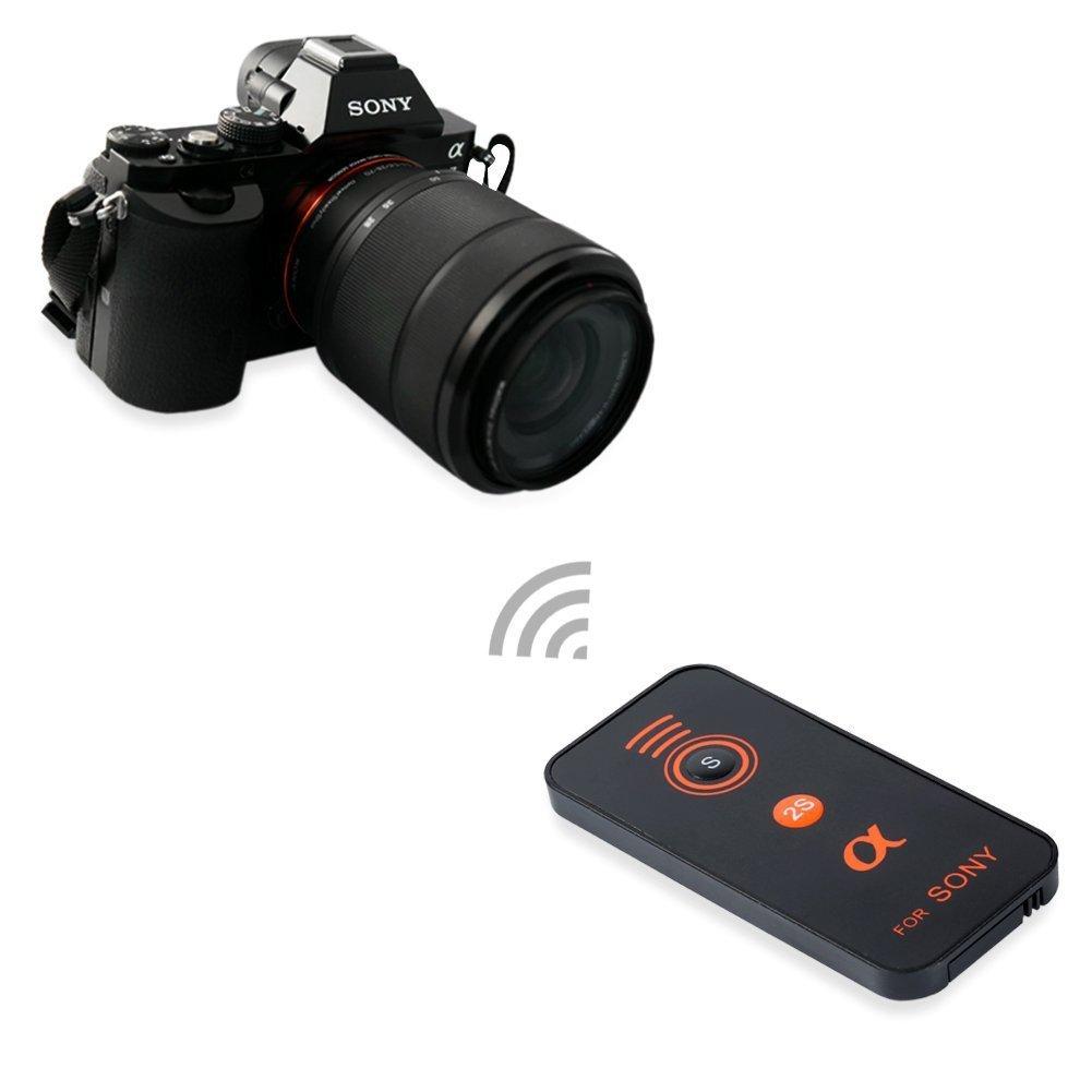 SODIAL Remote Controllo Ir per Fotocamere Serie II A7 Nex-6 Nex-5T Fotocamera Compatta A7R E DSLR Nex-7