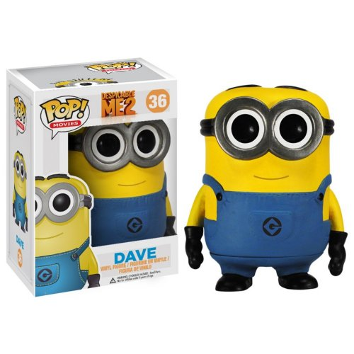 Funko POP Despicable Me: Dave Vinyl Figure