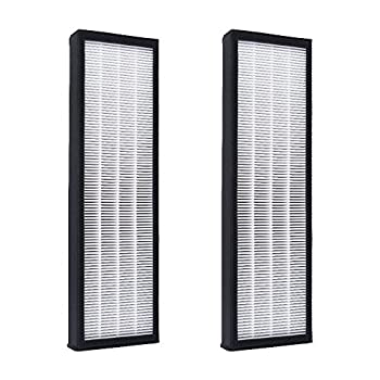 """Filterhome 2 Pack TRUE HEPA Charcoal Air Filter Replacement Filter C for 4825 Series Air Purifiers 15.77""""x4.79""""x1.3"""""""