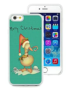 Popular Sell Design iPhone 6 Case,Christmas Duck White iPhone 6 4.7 Inch TPU Case 2