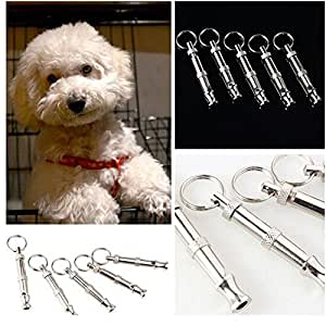 Amazon.com : Dog Puppy Pet Training Whistle Silent