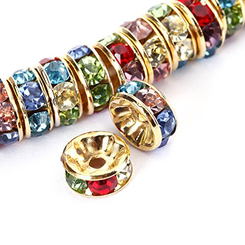 BRCbeads Crystal Rondelle jewelery Multicolor