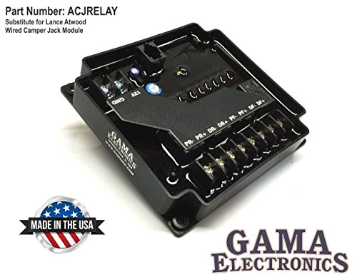 GAMA Electronics Substitute for Lance Atwood Wired Camper Jack Module (Jack Atwood Stabilizer)
