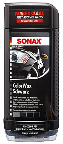 SONAX 298200 Colorwax schwarz, 500ml 02982000