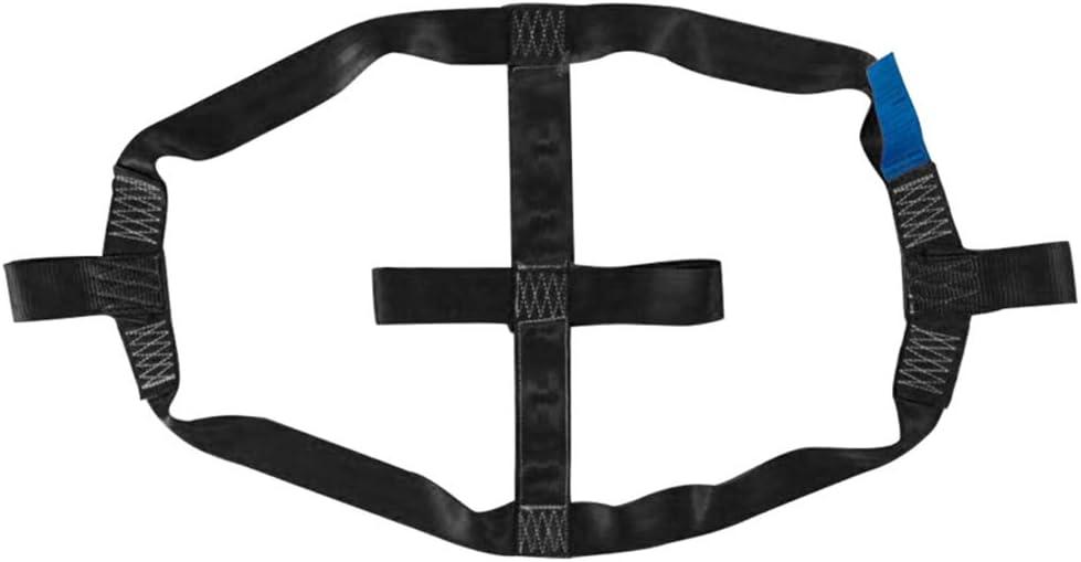 sicherer Motorrad-Transportgurt zum Festbinden des Hinterrads Starkes Polyester-Gurtband Crewell Hinterradgurt Transportzubeh/ör Faltbarer Transportgurt f/ür Motorrad rot leicht
