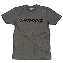 FastHouse Logo Men\'s Tee Shirt - Charcoal Large