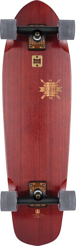 GLOBE HG Big Blazer Skateboard, Cherry Bamboo, 32