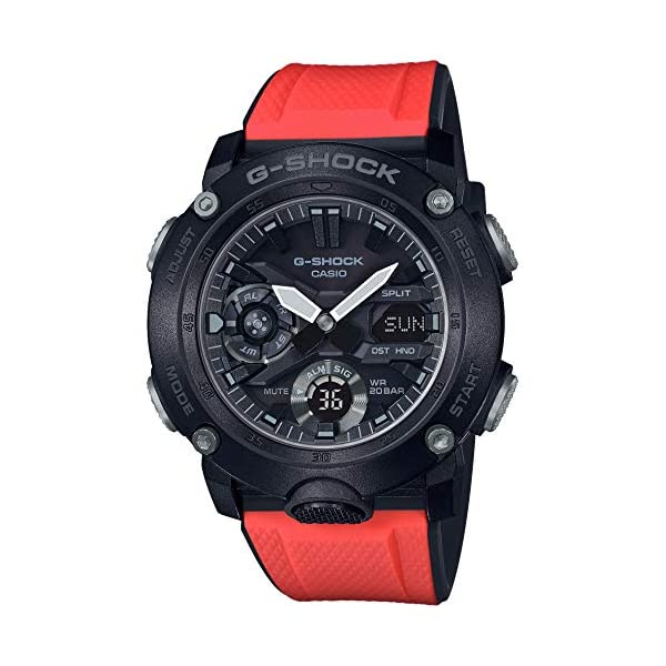 51EE%2B9xLPxL. SS600  - CASIO G-Shock GA-2000E-4JR Carbon Core Guard Basic