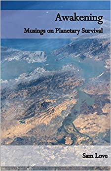 Book Cover: Awakening: Musings on Planetary Survival by Sam Love