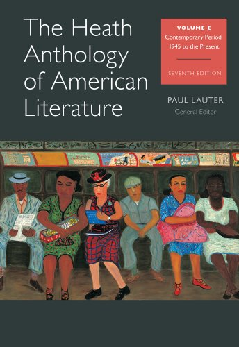 The Heath Anthology of American Literature: Volume E (Heath Anthology of American Literature Series)