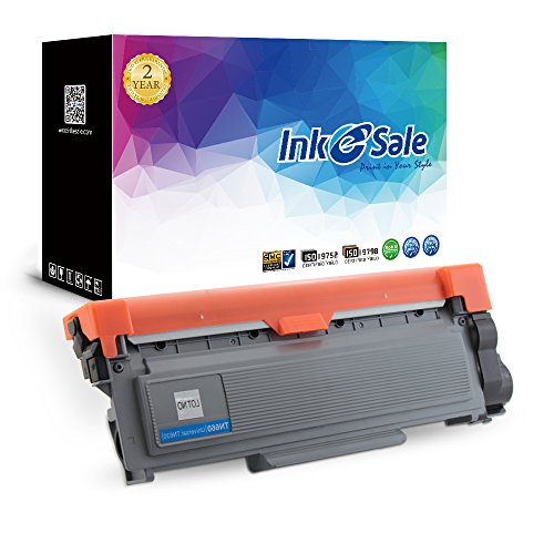 INK E-SALE High Yield TN660 TN630 Toner Cartridge Compatible Black for Brother DCP-L2520DW DCP-L2540DW HL-L2300D L2320D HL-L2340DW L2360DW HL-L2380DW MFC-L2700DW L2720DW MFC-L2740DW Printer (1-Pack)