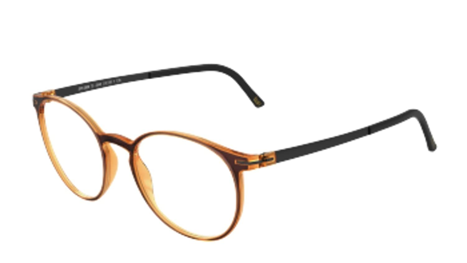 3a848091f923 Eyeglasses Silhouette Titan Accent Full Rim ( 1578 ) 2906 2540 49/18/135 3  piece frame chassis at Amazon Men's Clothing store:
