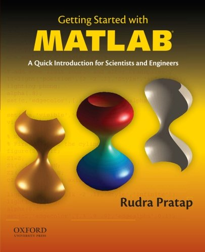 Getting Started with MATLAB ISBN-13 9780199731244