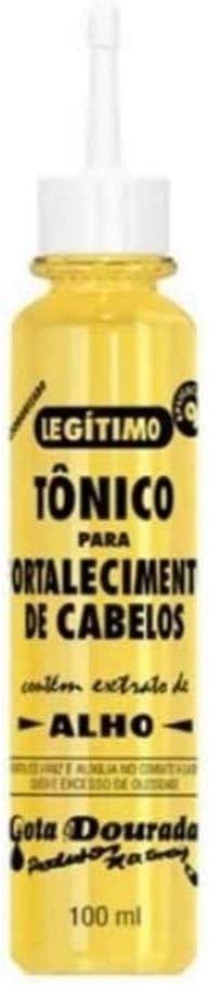 Tónico Gota Dourada Anticaspa y Anticaída Extracto de Ajo 100ml