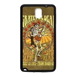 Happy Grateful Dead Fashion Comstom Plastic case cover For Samsung Galaxy Note3