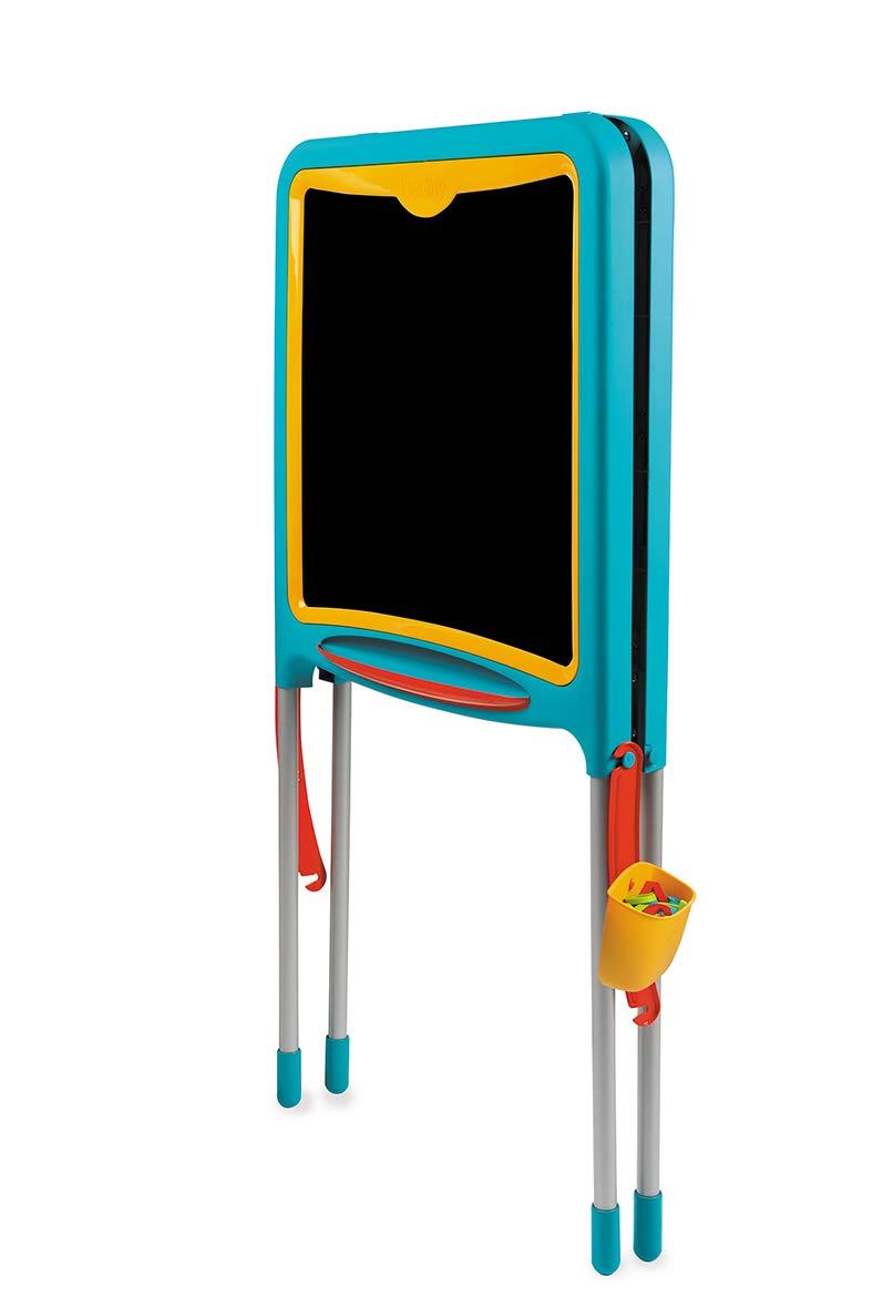 Mehrfarbig f/ür Kinder ab 3 Jahren Smoby 410307 Metalltafel Magnettafel