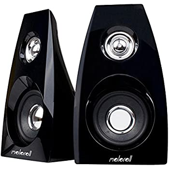 Moloroll Computer Speakers for Desktop PC,Laptop,Mac,USB Powered,Dual 3W Stereo