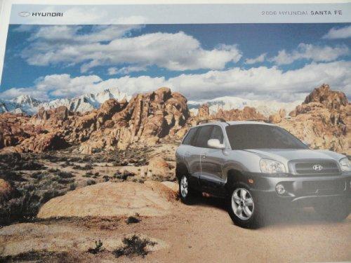 Original 2006 Hyundai Santa Fe Sales Brochure (Hyundai Santa Fe For Sale By Owner)