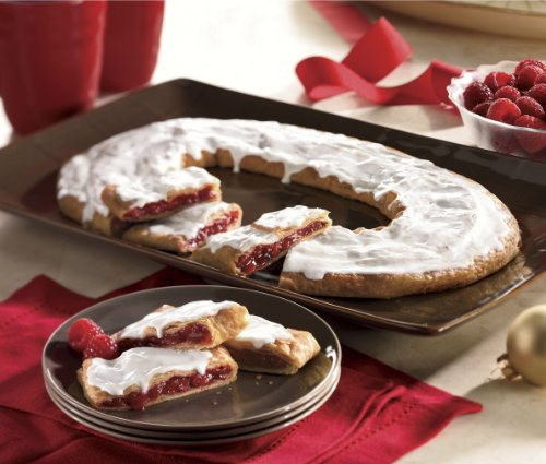 Both Raspberry and Pecan Kringle from The Swiss Colony