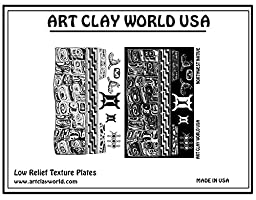 Art Clay Northwest Native Low Relief Texture Plate - 1 Pc.