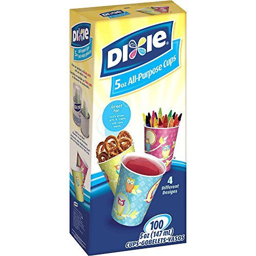 Dixie Bath Cups, 5 oz, 100 count - Dixie Paper Water Cups