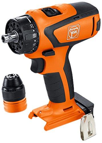 FEIN 71161064000 ASCM12Q SELECT Cordless Drill Driver, 12 V, Orange