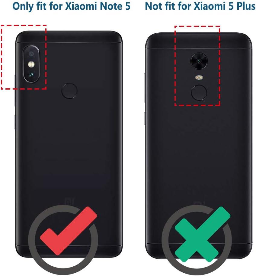 Anjoo Funda Compatible con Xiaomi Redmi Note 5, Carcasa Suave TPU Silicona Carcasa Conchoques Protectora, antichoque, Carcasa con Fibra de Carbono, Azul: Amazon.es: Electrónica