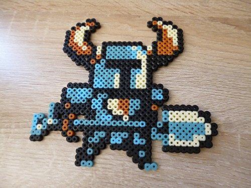 Shovel Bead - Sprite Shovel Knight • Pixel Art • Perler bead
