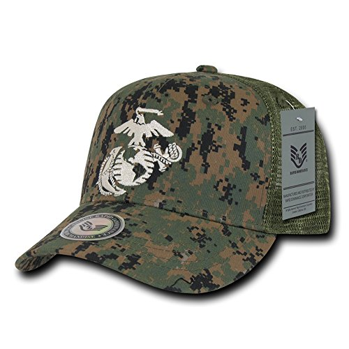 Rapiddominance Marines Back to the Basics Mesh Cap, (Marine Trucker Hat)