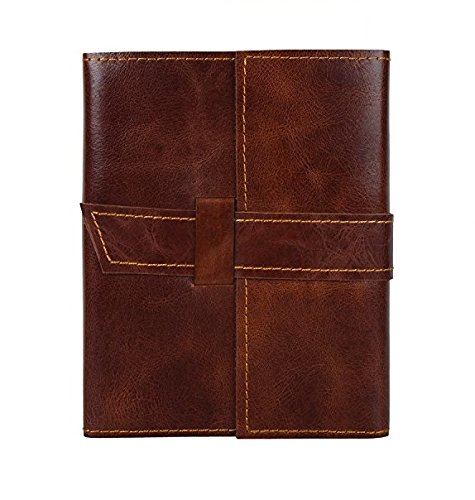 Handmade Leather Journal Notebook Refillable Diary for Men Women Writers Artist Poet Gift for Him - Mans Journal