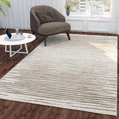 Ottomanson Casa Collection Area Rug, 7 10 x 9 10 , Beige
