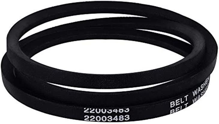 22003483 Washer Drive Belt for Maytag, Jenn-Air, Amana Replaces WP22003483 AP6006365 PS11739438 22002709 22003483