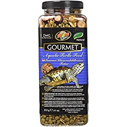 Zoo Med Gourmet Aquatic Turtle Food, 11 -Ounce
