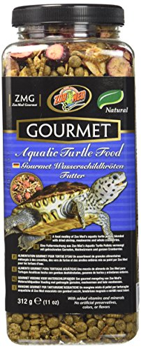 - Zoo Med Gourmet Aquatic Turtle Food, 11 -Ounce