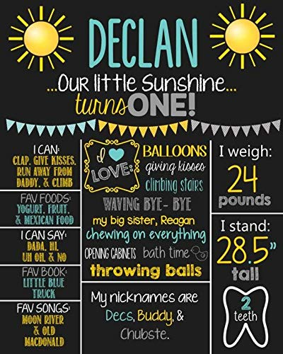 Amazon.com: Dozili Personalized You are My Sunshine First ...