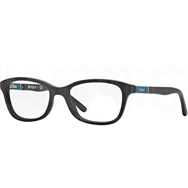 829219deeb1 Vogue VO 2892 Brillen W44S matt schwarz 45–16–125: Amazon.de: Bekleidung