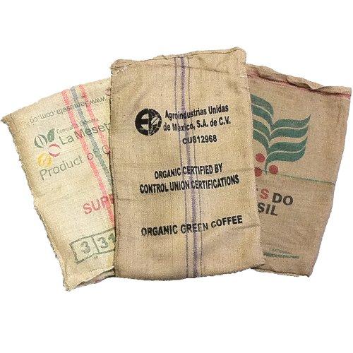 Used Burlap Coffee Bags (10 Pack)]()