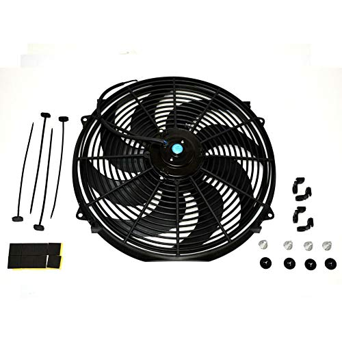 Mylujo Electric Radiator Cooling Fan, 16