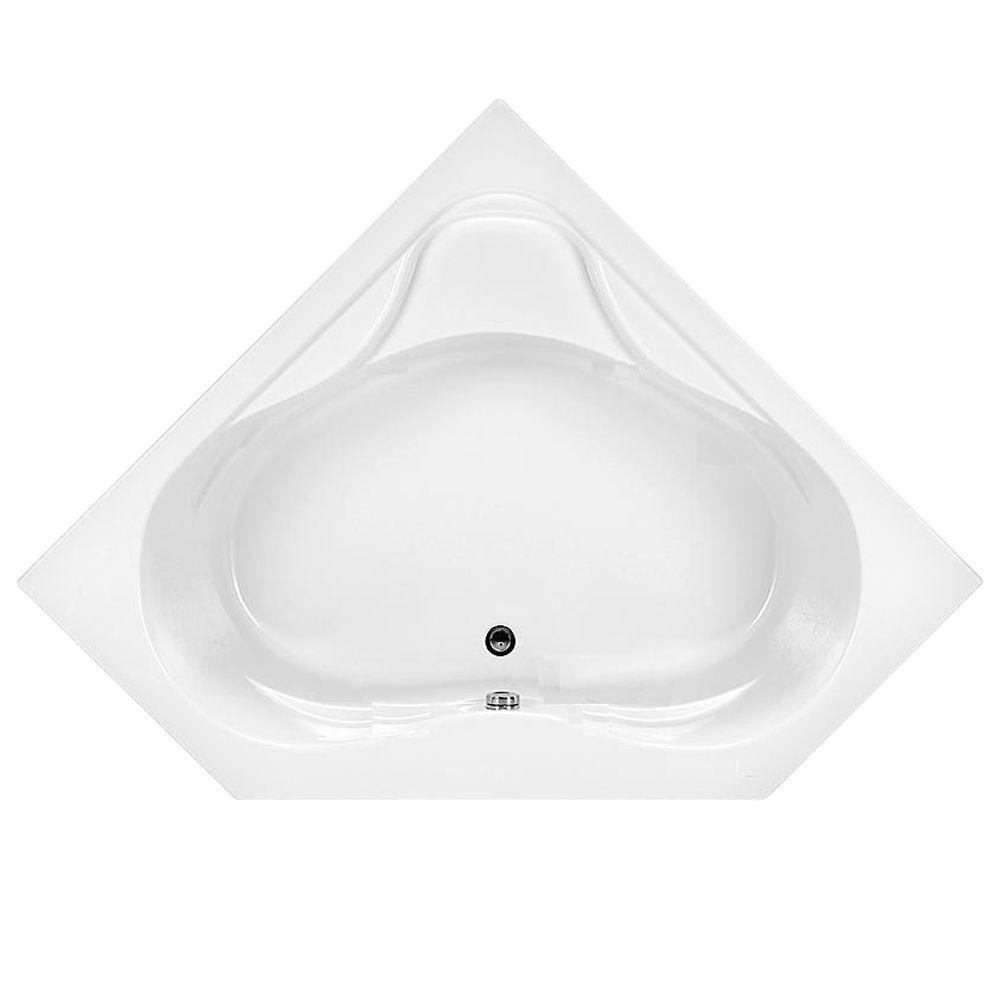American Standard 1730.002.020 Colony Corner Bath Tub, White - Drop ...