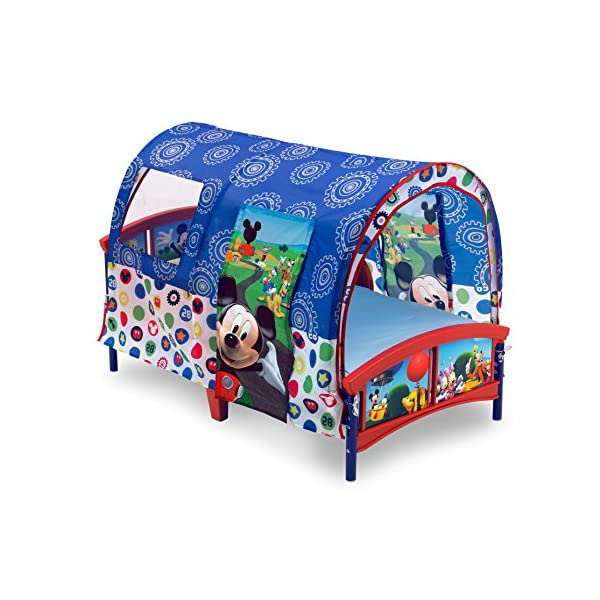 Delta Children Toddler Tent Bed, Disney Mickey Mouse 6