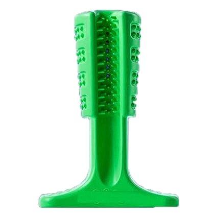 symboat perro de mascar juguete de mascar cepillo de dientes limpieza de los animales el cuidado
