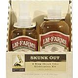 L/M Animal Farms DLM13083 Skunk Out 2-Step Odor Elimination Kit for Dogs