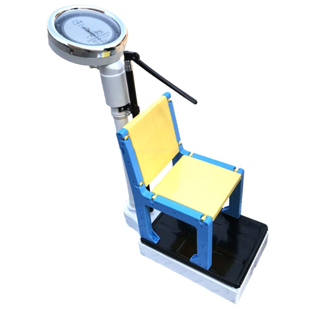 GaoTP Children's Professional High-Weight Scales, Mechanical Height and Weight Medical Scales, with Height Poles, Detachable Splits (with Chairs)