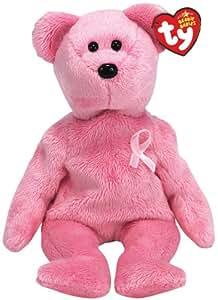 TY Beanie Babies AWARENESS Breast cancer awareness bear