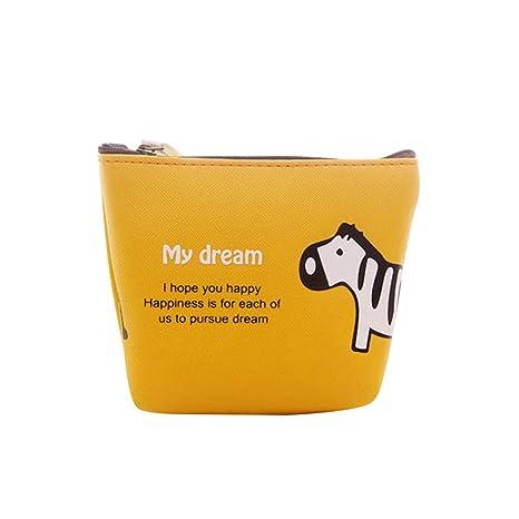 Monedero creativo con diseño de animales, pequeño y portátil ...