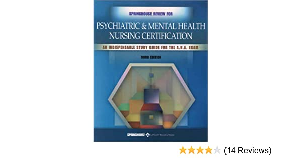 Springhouse nursing review: springhouse review for psychiatric and.