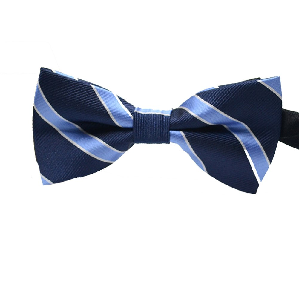 Tenchif Mens Formal Casual Wedding Tuxedo Pre-Tied Bow Tie Adjustable Neck Tie