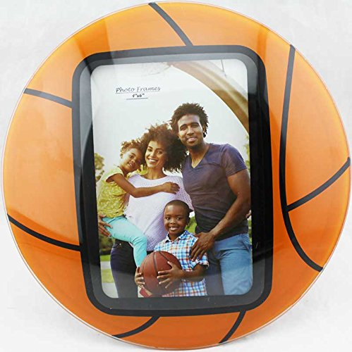 Glass Curved Basketball Picture Frames 4